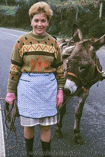 Woman-donkey