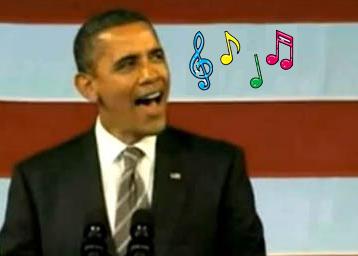 Obama_singing